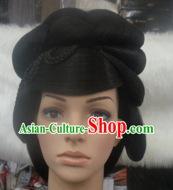 Ancient Chinese Beauty Long Wig Complete Set