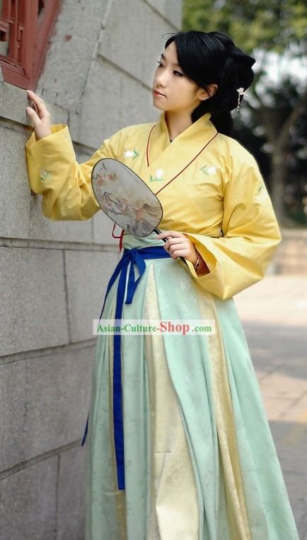 Han Dynasty Hanfu Clothing for Girls