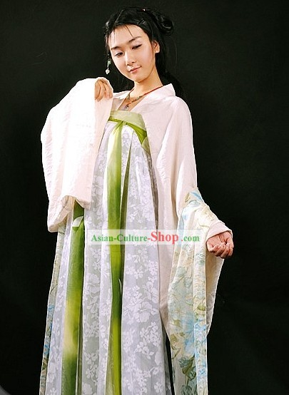 Ancient Chinese Tang Dynasty Ruqun Clothing for Women