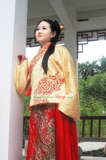 Ancient Chinese Ming Dynasty Costumes for Women