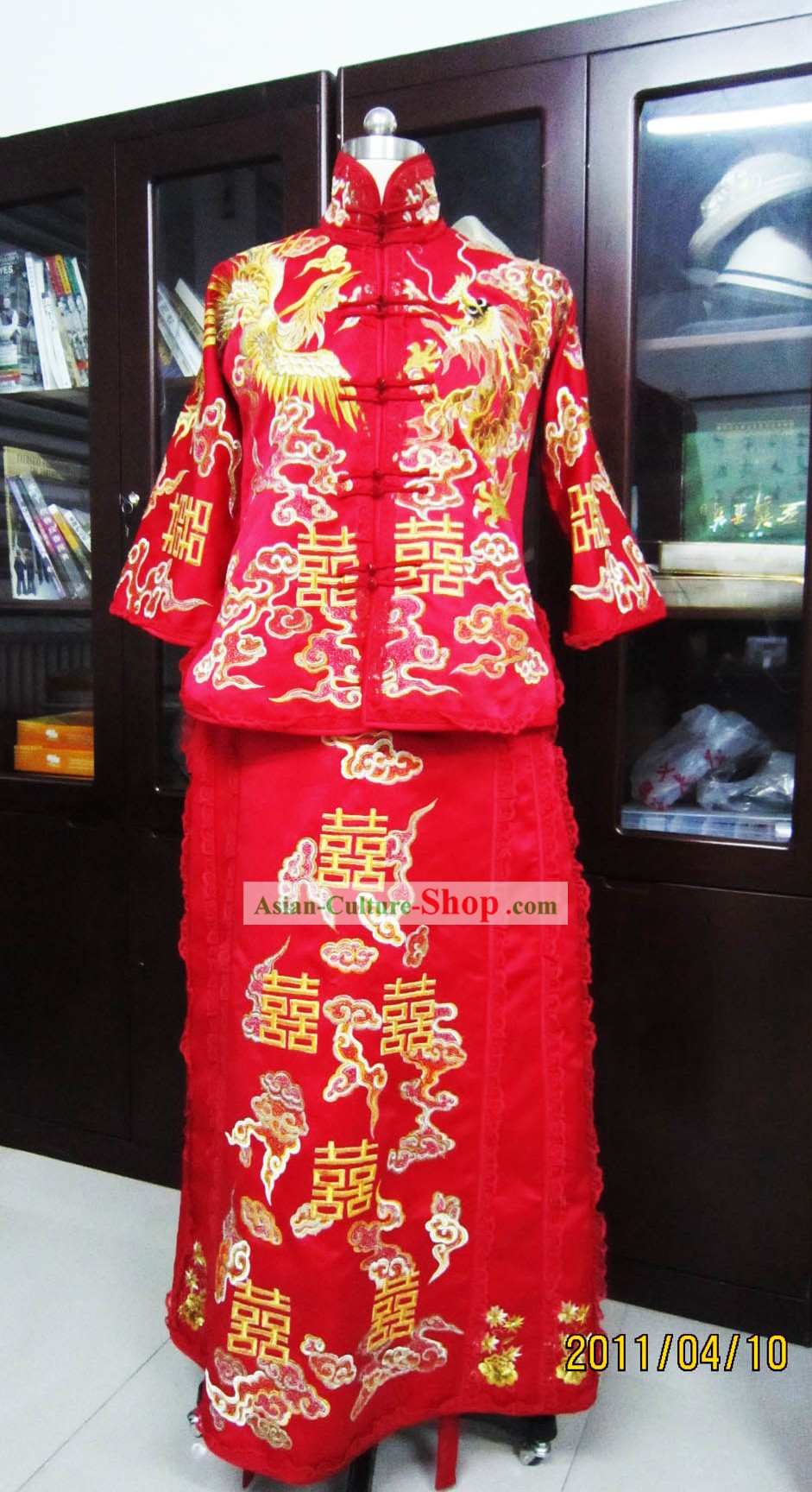 Traditional Chinese Xi Wedding Dress for Brides