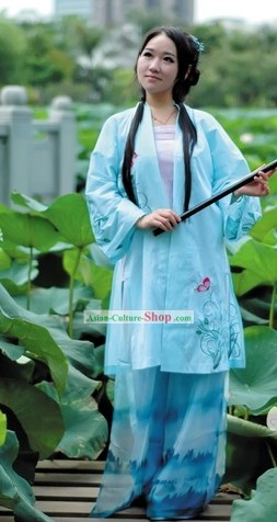 Ancient Chinese Song Dynasty Attire Dress for Women