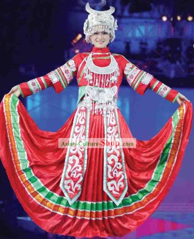 Miao Dance Costumes for Women