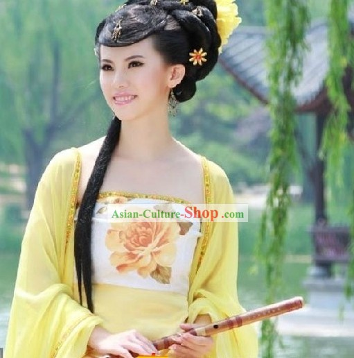 Ancient Chinese Tang Dynasty Costume for Women