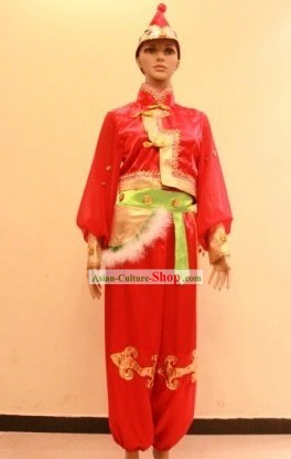 Traditional Chinese Chopsticks Dance Costumes for Women