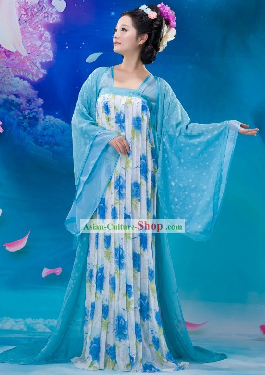 Ancient Chinese Tang Dynasty Palace Lady Costume