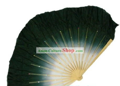 Traditional Chinese Classical Ink Color Silk Dance Fan