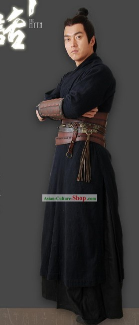 Ancient Chinese Fighting General Costume for Men