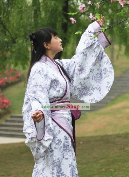 Ancient Chinese Quju Hanfu Dress Complete Set for Women