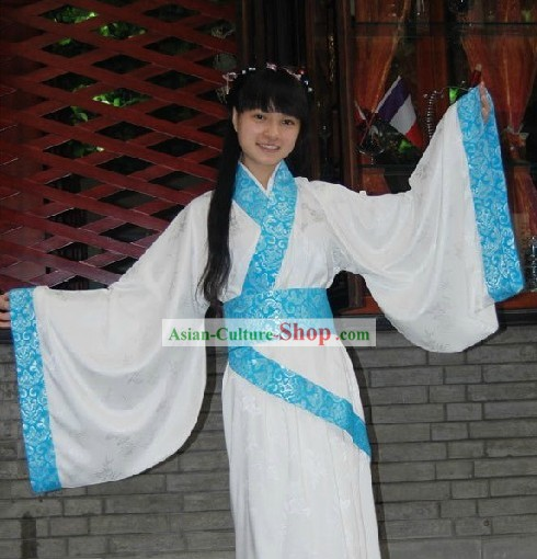 Ancient Chinese Shuangrao Quju Garment Clothing for Women