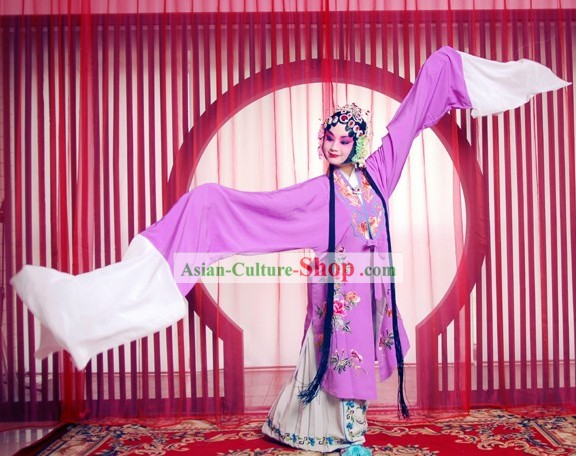 Chinese Opera Huadan Costume Complete Set for Women