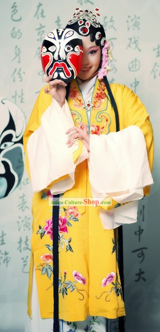 Beijing Opera Hua Dan Actress Costumes Complete Set