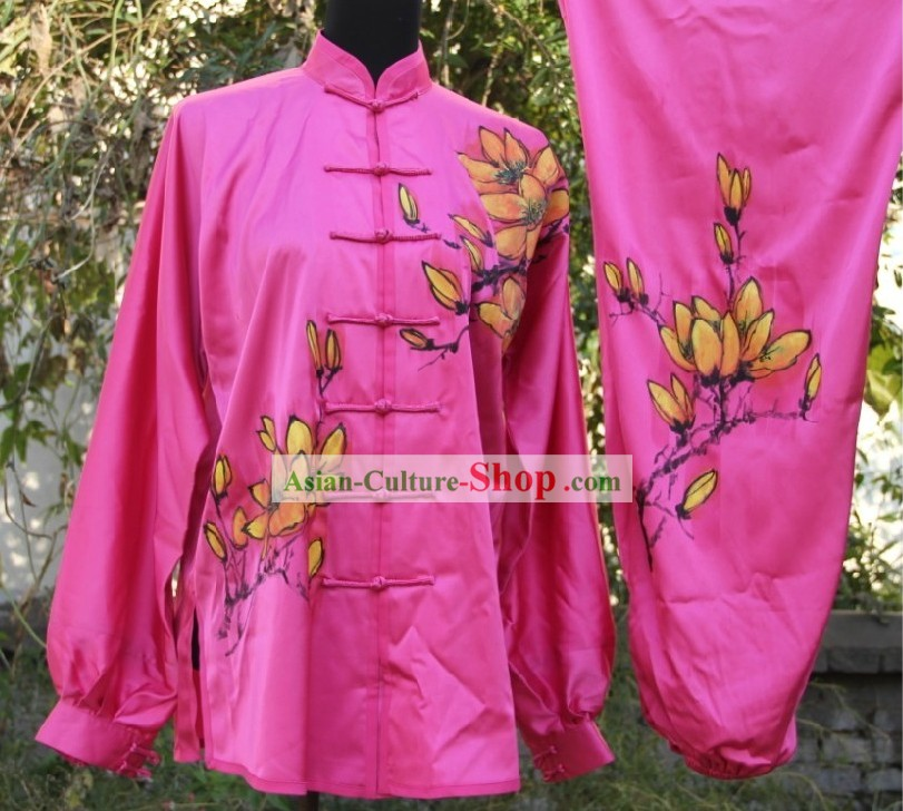 Traditional Chinese Tai Chi Competition Costumes for Women
