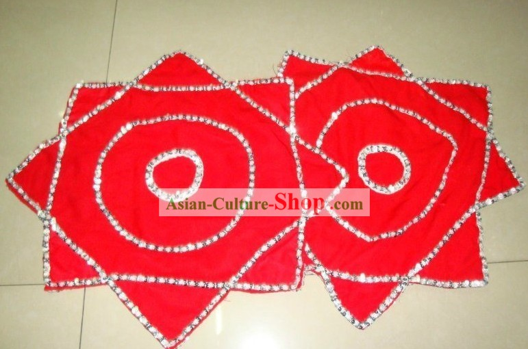 Traditional Chinese Red Dance Handkerchief