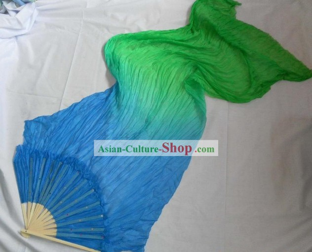 Chinese Classic Color Changing Silk Dance Fan
