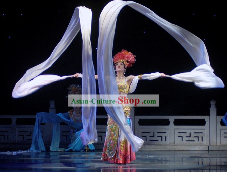 12 Meters Chinese Classic Dance Ribbon