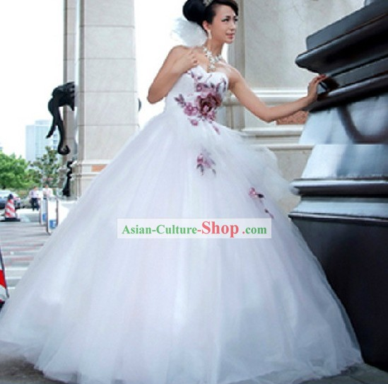 Chinese Style Classic Design Wedding Dress