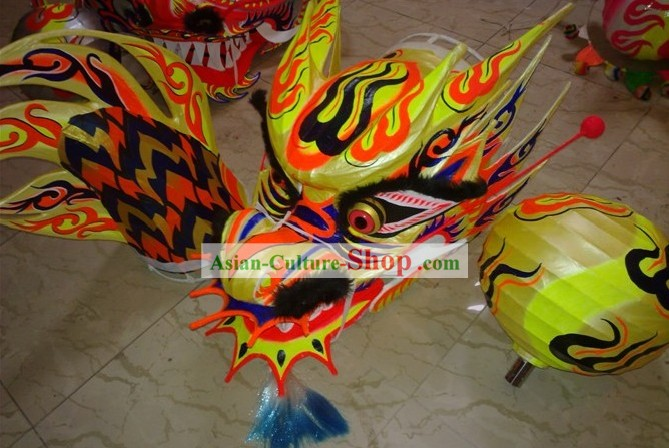 Top Competition and Parade Luminous Dragon Dance Costume Complete Set