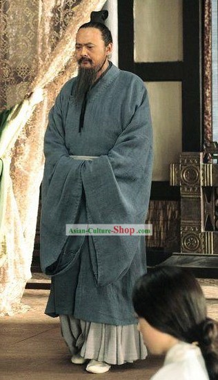 Confucius Kong Zi Costumes Complete Set