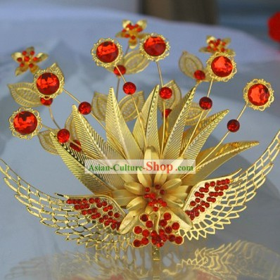 Chinese Bride Wedding Phoenix Crown