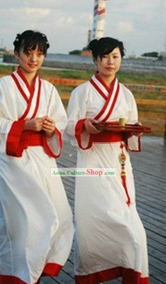 Ancient Chinese Waitress Costumes for Women