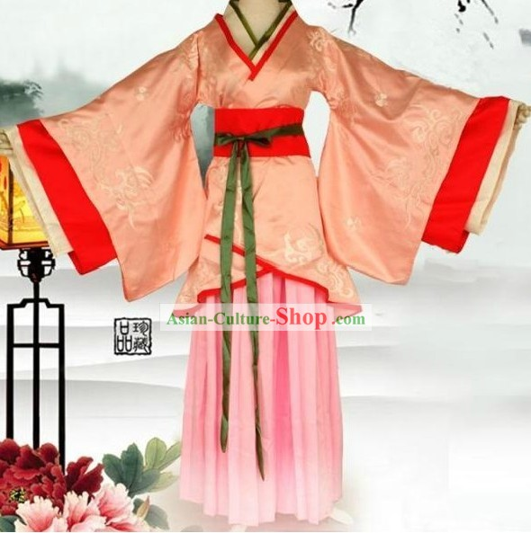 Ancient China Han Dynasty Female Clothes for Women