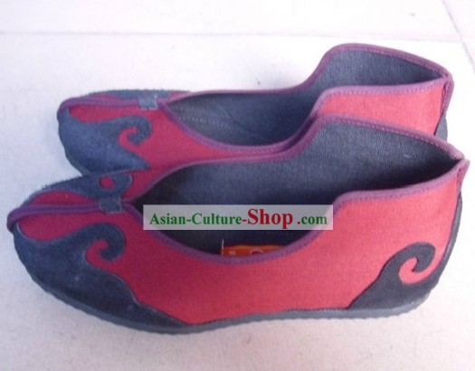 Traditional Chinese Taoist Shoes for Women