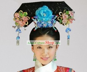Qing Dynasty Princess Palace Headpiece for Women