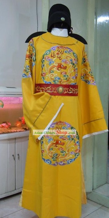 Tang Dynasty Emperor Embroidered Dragon Clothes for Men