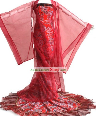 Chinese Classical Wedding Evening Dress for Women