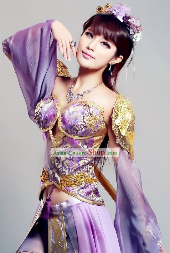 Chinese Games Cosplay Costumes for Women