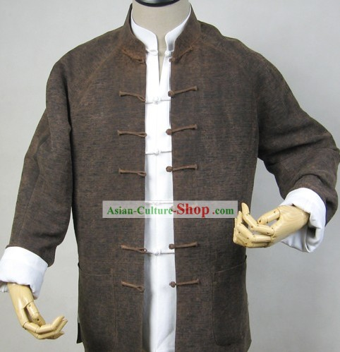 Traditional Chinese Kung Fu Master Two Blouses Set