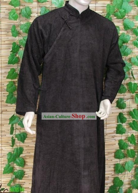 Traditional Chinese Long Robe for Men