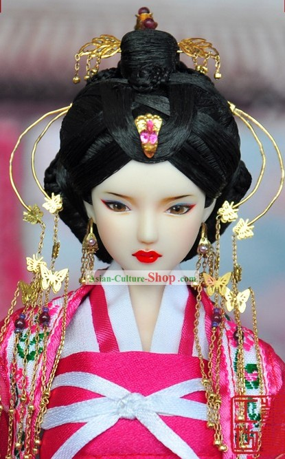 Ancient Chinese Empress Headwear and Wig