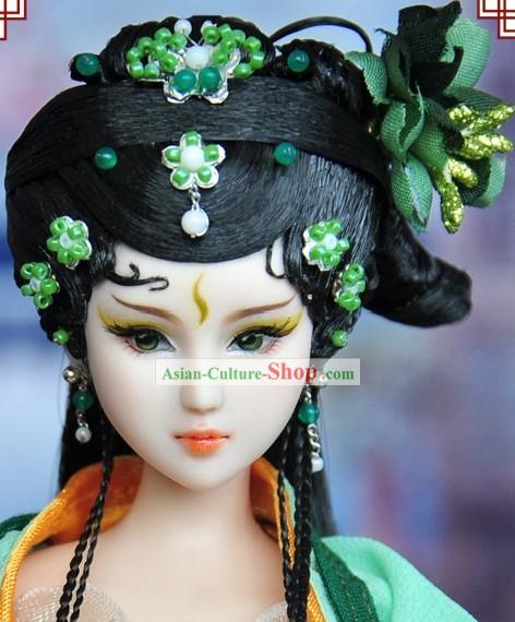 Ancient Chinese Opera Lady Hair Accessories and Wig for Women