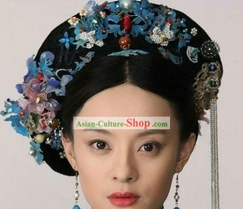 China Qing Dynasty Empress Hair Accessories