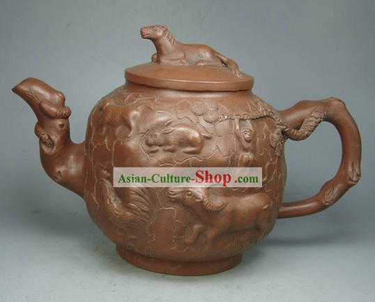 Chinese Twelve Symbolic Zodiac Animals Zisha Teapot