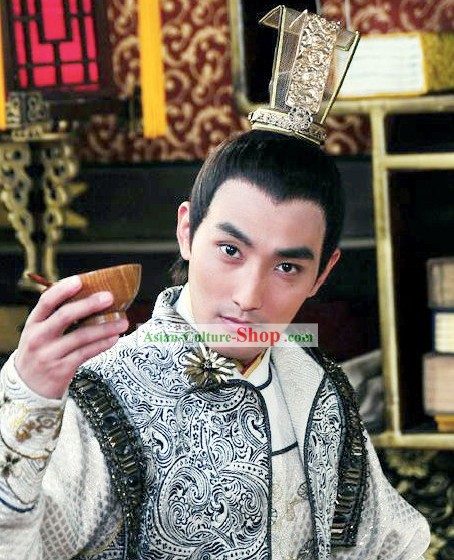 Ancient Chinese Prince Coronet Headwear for Men
