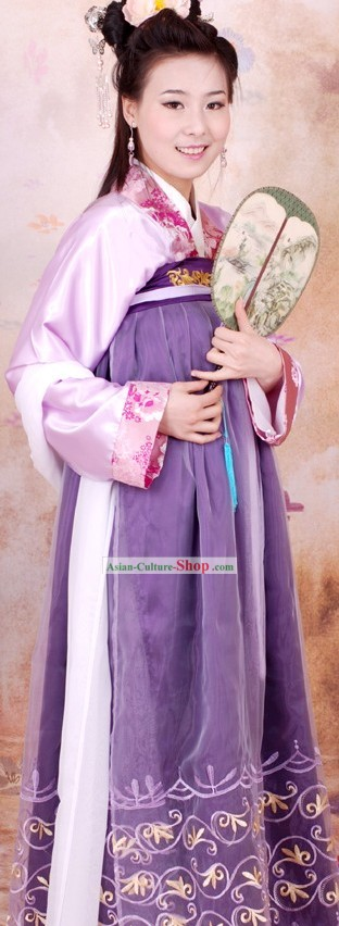 Ancient Chinese Tang Dynasty Clothes for Women