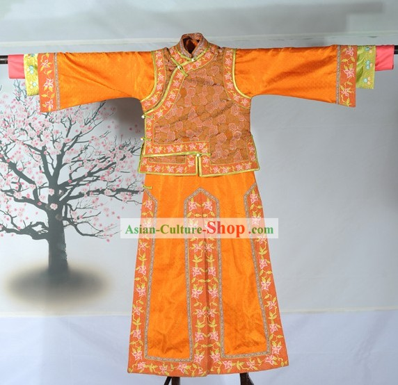 Qing Dynasty Princess Costumes Complete Set for Women