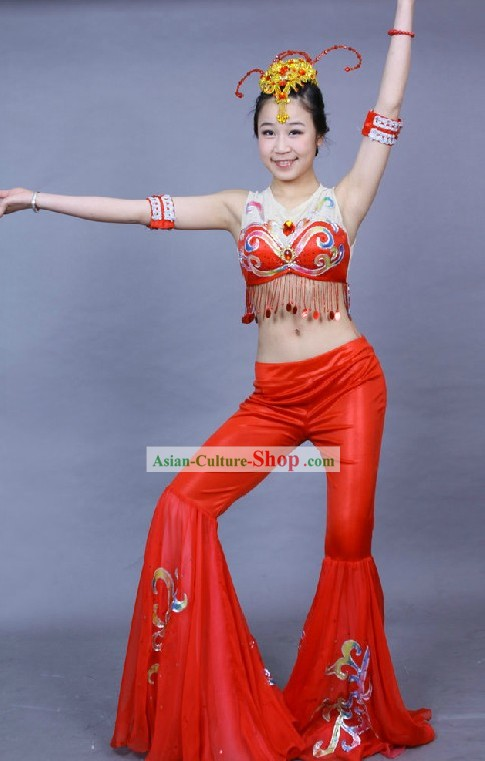Chinese Palace Fei Tian Dance Costumes for Women