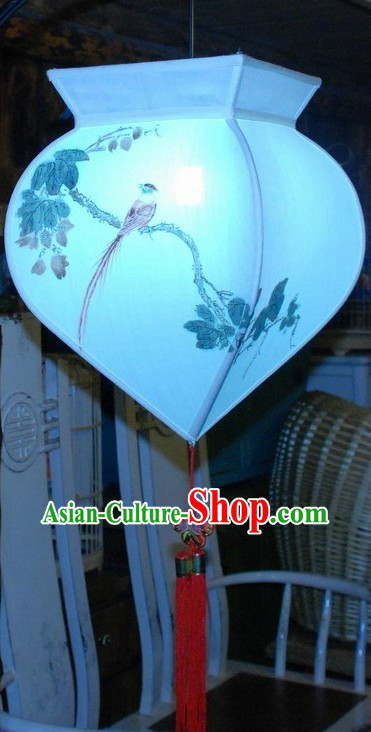 Ancient Chinese Ming Dynasty Style Hand Painted Palace Lantern