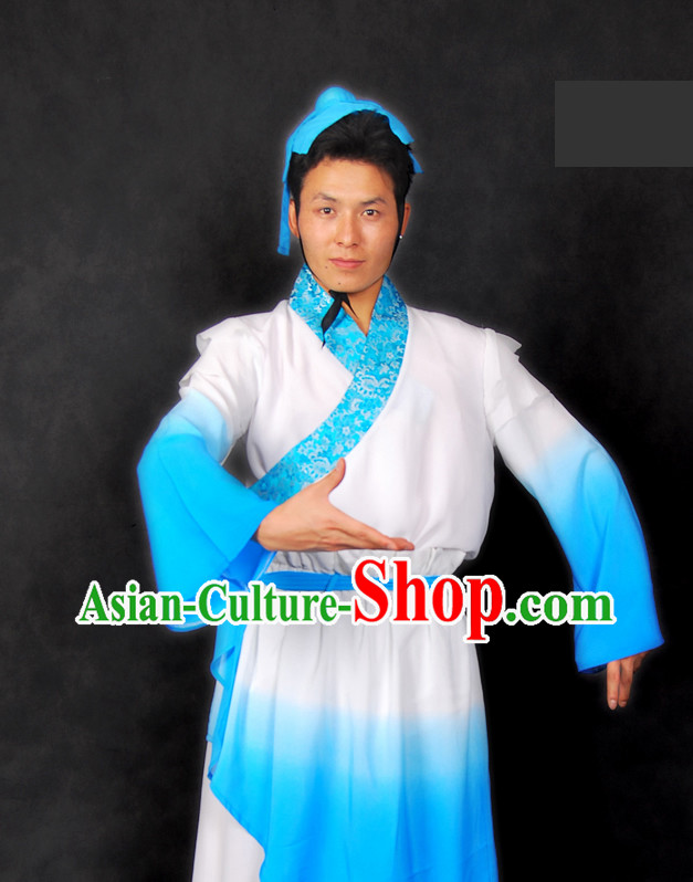 Chinese Classical Stage Performance Dance Costume for Men