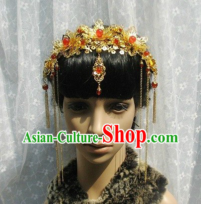 Chinese Classical Wedding Hair Accessories for Brides