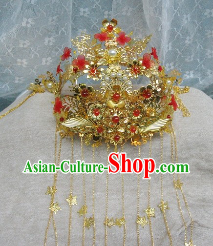 Chinese Classical Phoenix Wedding Coronet for Brides