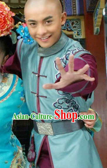 Ancient Chinese Qing Dynasty Prince Clothing for Men