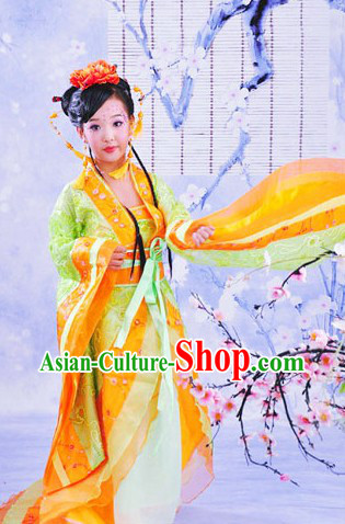 Traditional Chinese Palace Princess Dress for Girls