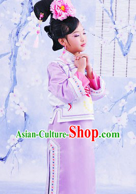 Traditional Chinese Imperial Princess and Headpiece for Women