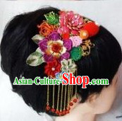 Traditional Mandarin Handmade Fabric Hair Accessories