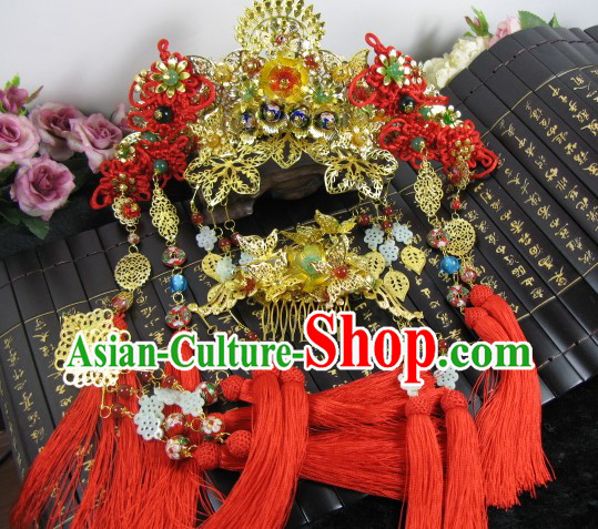 Chinese Classical Wedding Hair Accessories Set